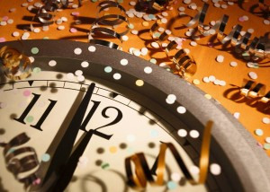 new year's eve ticking clock