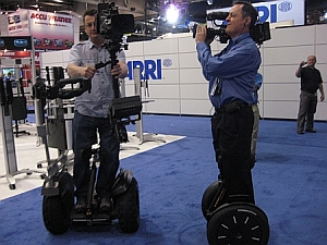Segway based Steadicam at NAB 2009